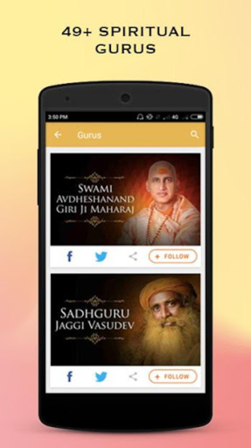 Darshan, Bhajan, God Images, Aarti, Gurus, Videos screenshot 2