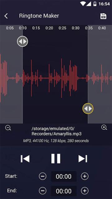 MP3 Cutter and Ringtone Maker screenshot 10