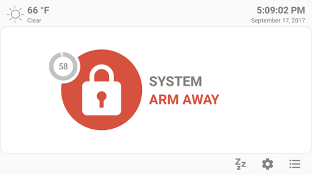 MQTT Alarm Control Panel screenshot 3