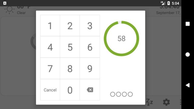 MQTT Alarm Control Panel screenshot 4