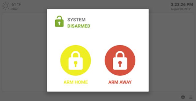 MQTT Alarm Control Panel screenshot 10