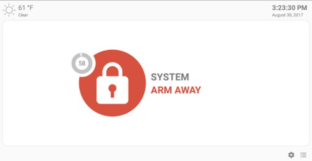 MQTT Alarm Control Panel screenshot 11