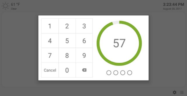 MQTT Alarm Control Panel screenshot 12