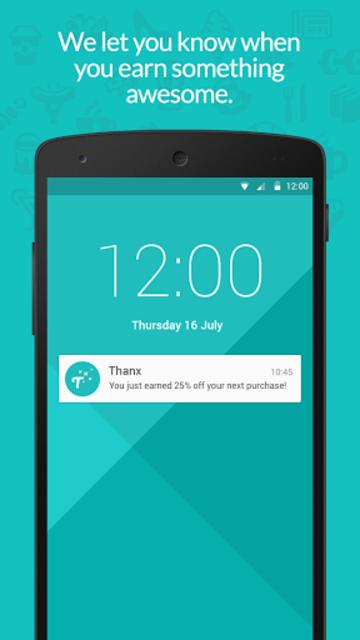 Thanx — Loyalty Rewards screenshot 3