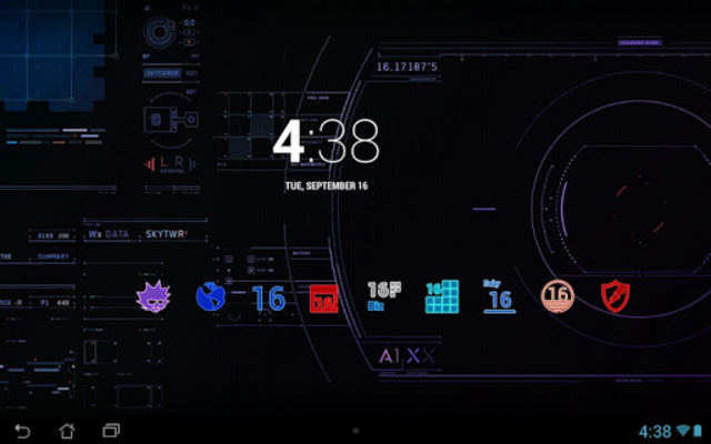 EXO - Icon Pack screenshot 1