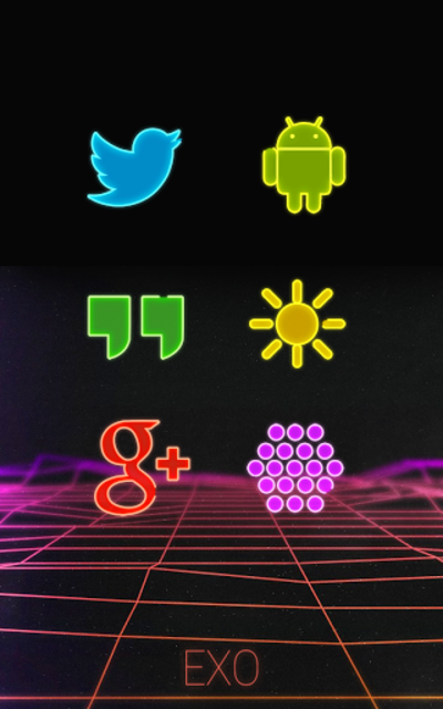 EXO - Icon Pack screenshot 2