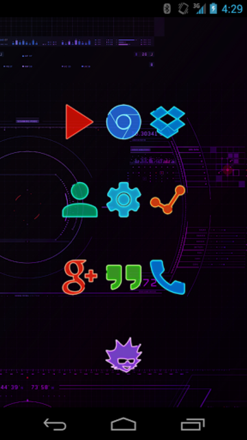 EXO - Icon Pack screenshot 3