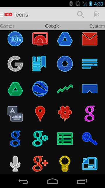 EXO - Icon Pack screenshot 4
