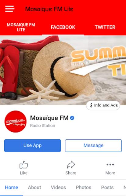 Mosaique FM Lite screenshot 1