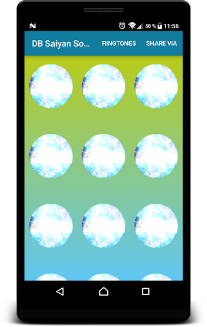 Super Saiyan Soundboard and Ringtones screenshot 2