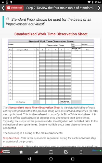 Healthcare Standard Work screenshot 17