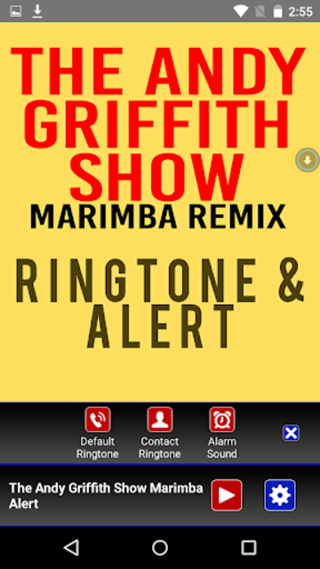The Andy Griffith Show Marimba screenshot 2