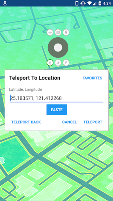 GPS JoyStick Fake GPS Location screenshot 2