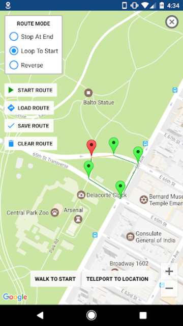 GPS JoyStick Fake GPS Location screenshot 4