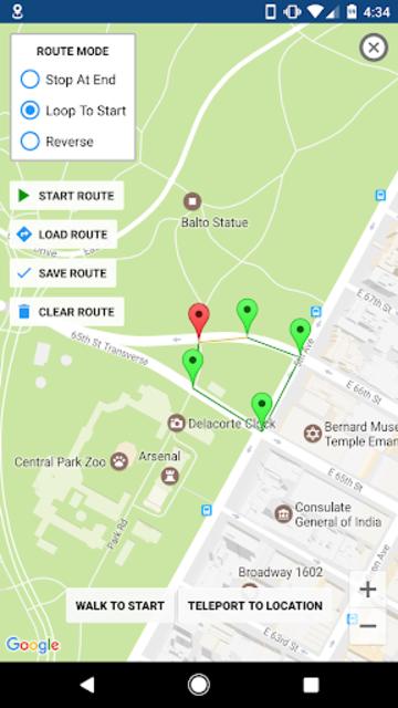 GPS JoyStick Fake GPS Location screenshot 20