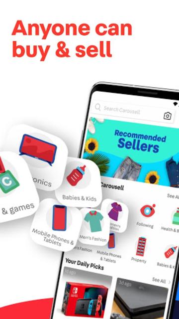 Carousell: Snap-Sell, Chat-Buy screenshot 1