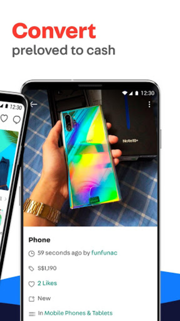 Carousell: Snap-Sell, Chat-Buy screenshot 2