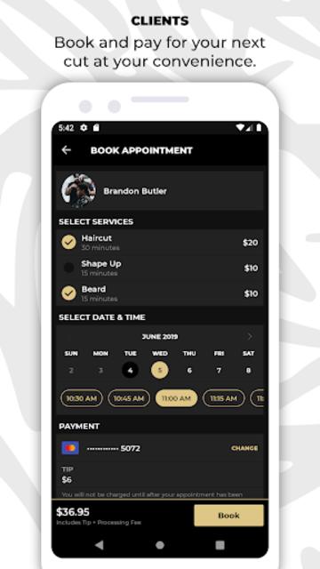 theCut: #1 Barber Booking App screenshot 1