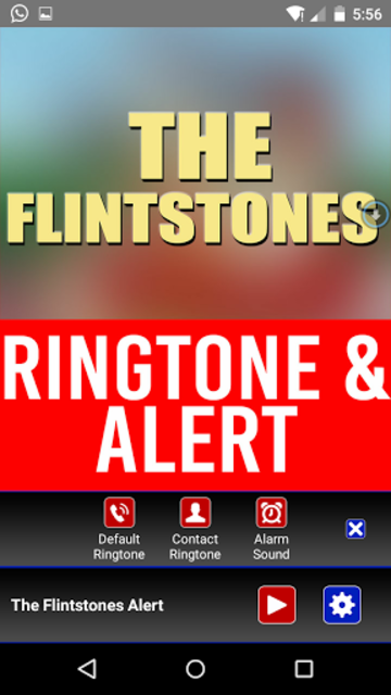 The Flintstones Theme Ringtone screenshot 2