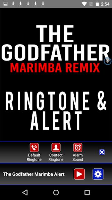 The Godfather Theme Marimba screenshot 2