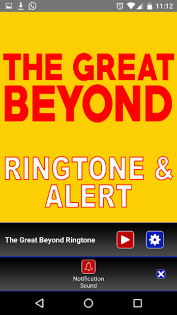 The Great Beyond Ringtone screenshot 4
