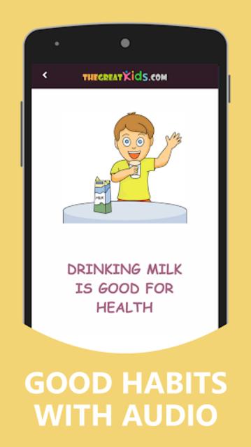 Good Habits & Manners for Kids screenshot 2