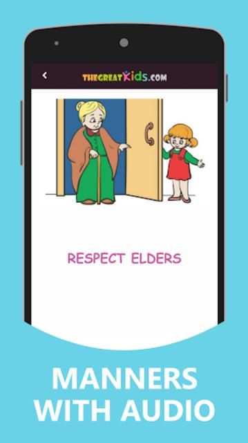 Good Habits & Manners for Kids screenshot 3