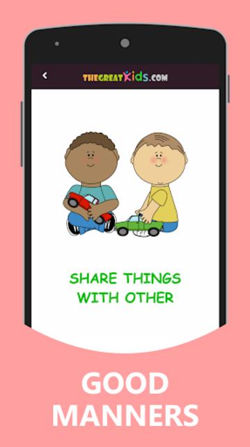 Good Habits & Manners for Kids screenshot 10