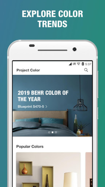 Project Color - The Home Depot screenshot 5