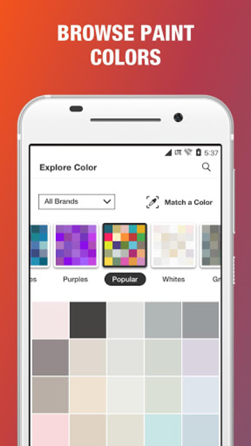 Project Color - The Home Depot screenshot 1