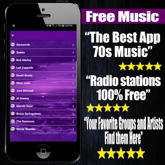 70s Music Free screenshot 1