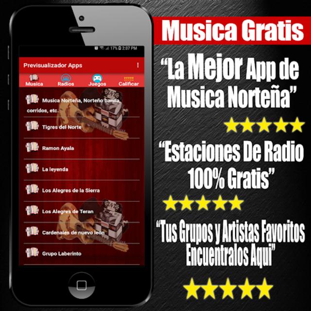 Musica Norteña Mexicana Gratis screenshot 8