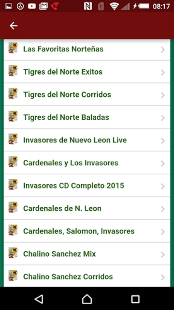 Musica Norteña Mexicana Gratis screenshot 10