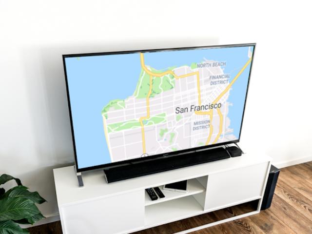 Maps on Chromecast screenshot 1