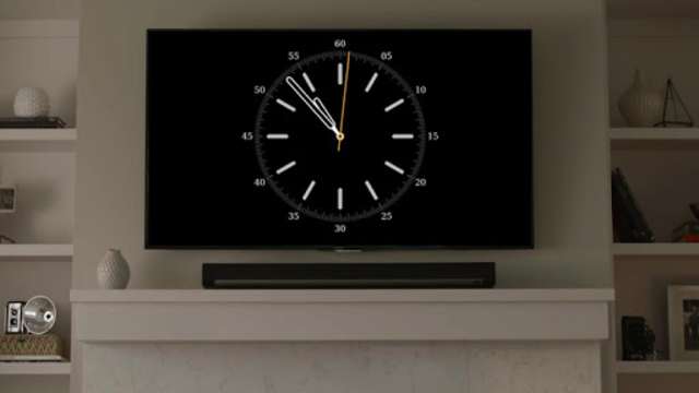 Clocks on Chromecast|⏰ Clock display widget for TV screenshot 2