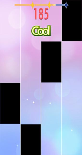 BTS - Heartbeat (BTS WORLD OST) on Piano Tiles screenshot 2
