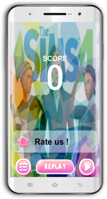 Magic The Sims4 Piano Tiles screenshot 3