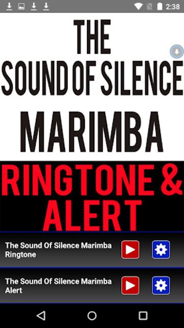 The Sound Of  Silence Marimba screenshot 1