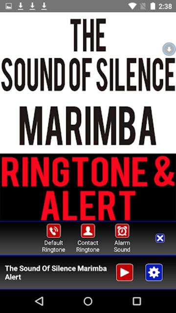 The Sound Of  Silence Marimba screenshot 2