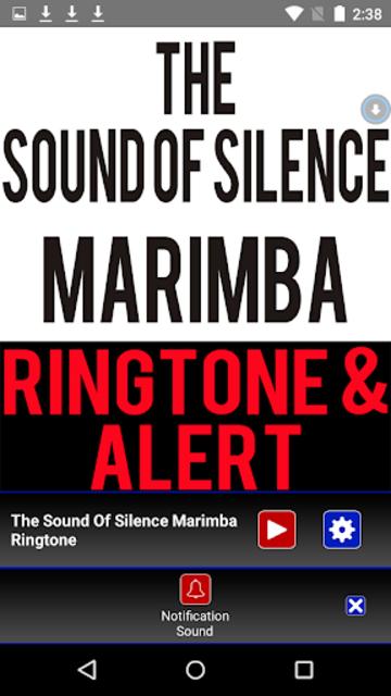 The Sound Of  Silence Marimba screenshot 3