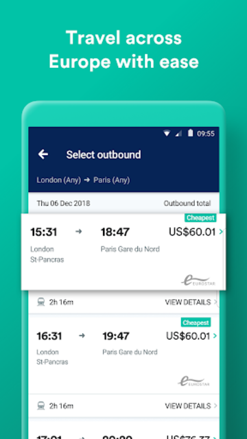 Trainline:  Europe's leading train and coach app screenshot 3