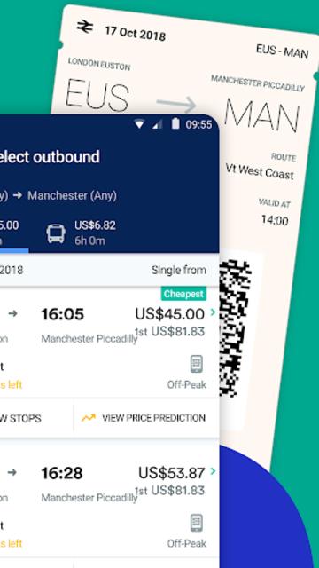 Trainline - Buy cheap European train & bus tickets screenshot 2