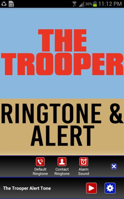 The Trooper Ringtone and Alert screenshot 1