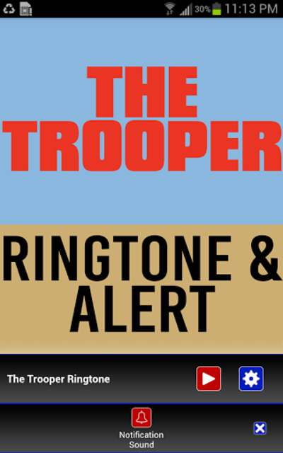 The Trooper Ringtone and Alert screenshot 2