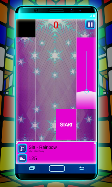 My Pony Piano Tiles Game screenshot 2