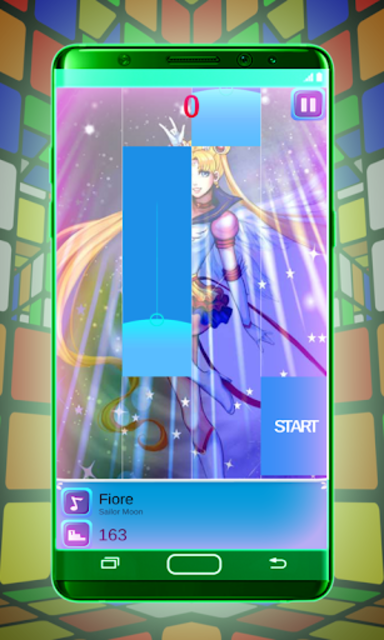 Sailor Moon Piano Tiles Magic Game screenshot 3