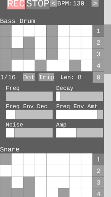 Dragon Drum Machine - Synth drums for Android screenshot 6