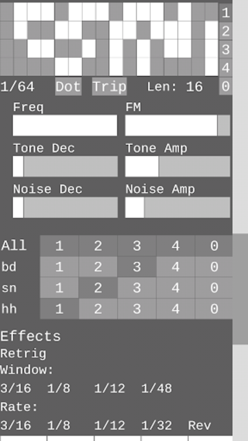 Dragon Drum Machine - Synth drums for Android screenshot 7
