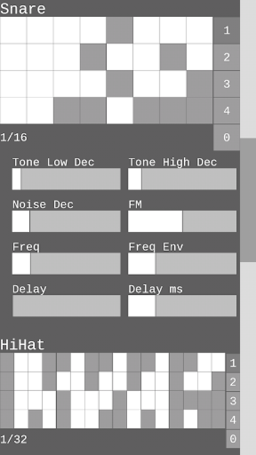 Dragon Drum Machine - Synth drums for Android screenshot 9