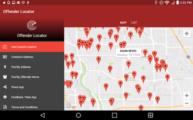 Offender Locator screenshot 9